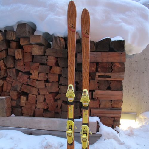 The skiis pictured were produced in around an hour
